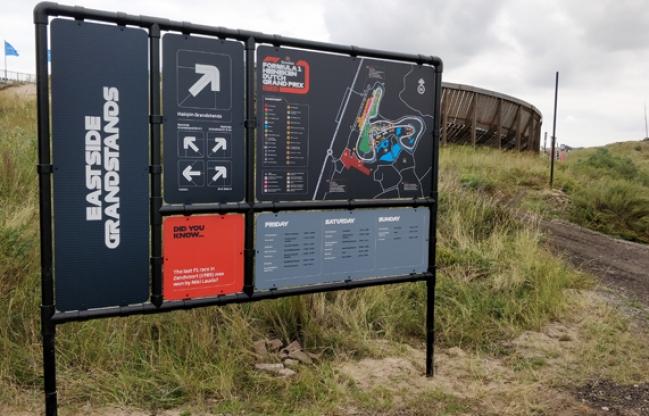De race van LENN op Zandvoort