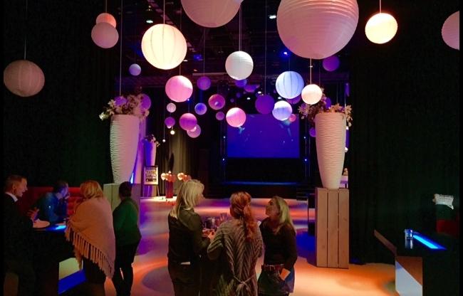 Sfeerimpressie Theaterzaal HAL4