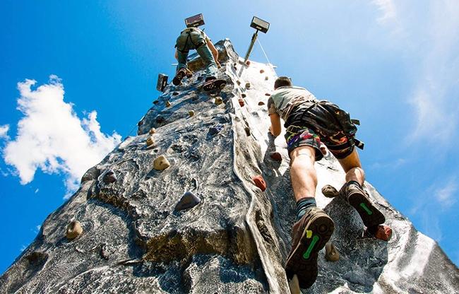 Mobiele klimwand | Rongen Aktief