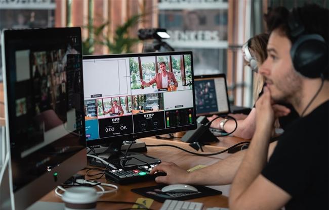 professionele livestreaming eventlocatie kanaal30