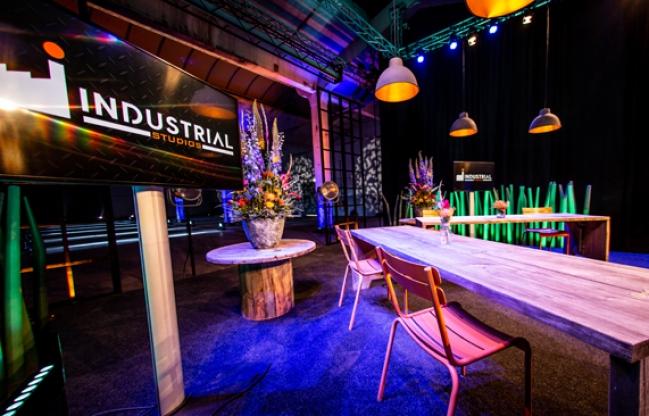 Industrial Studios: alle speelruimte voor dynamische concepten