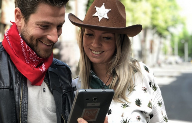 Teamuitje in Amsterdam - Citygame
