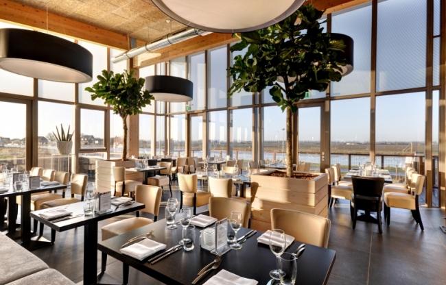 Lunch en diner in het restaurant