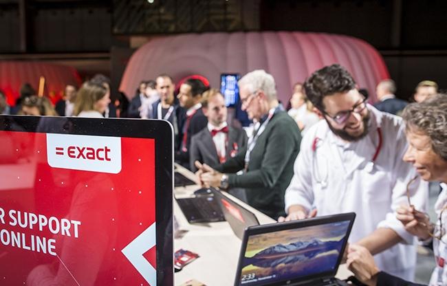 Een kijkje in de toekomst bij Exact Live