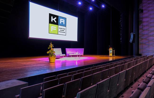 Online rondleiding als start van evenement bij KAF