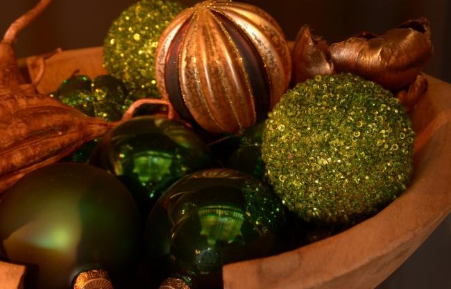 Tropische kerst decoratie