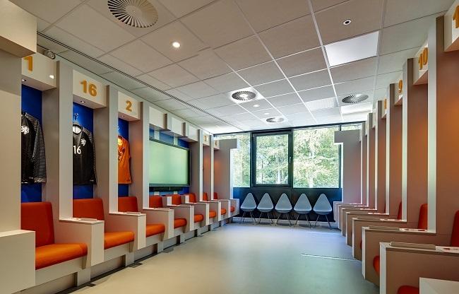 Kleedkamer KNVB Campus