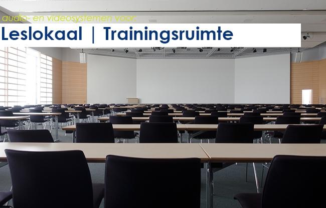 Audio- en videosystemen | leslokaal en trainingsruimte
