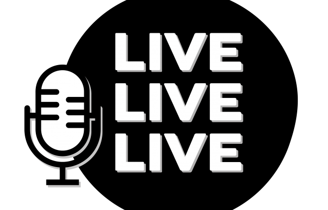 Now recording… LIVE LIVE LIVE