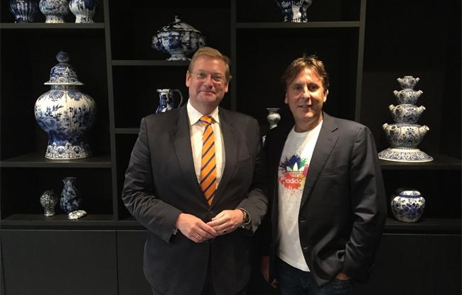 Lucien Spee met Ard van der Steur in overleg over veiligheid