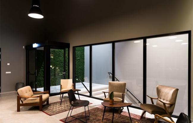 Lounge in de Midden Nederland Hallen