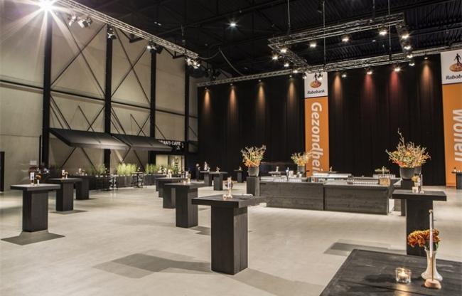 Beursvloer in de Midden Nederland Hallen