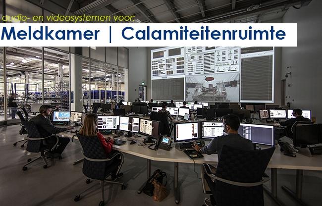Audio- en videosystemen | meldkamer en calamiteitenruimte