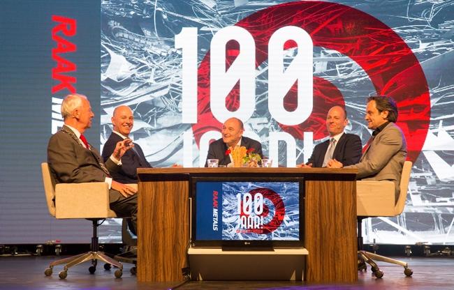 Talkshow 100 jarig jubileum
