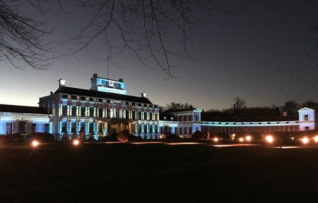 Paleis Soestdijk - Lichtprojectie