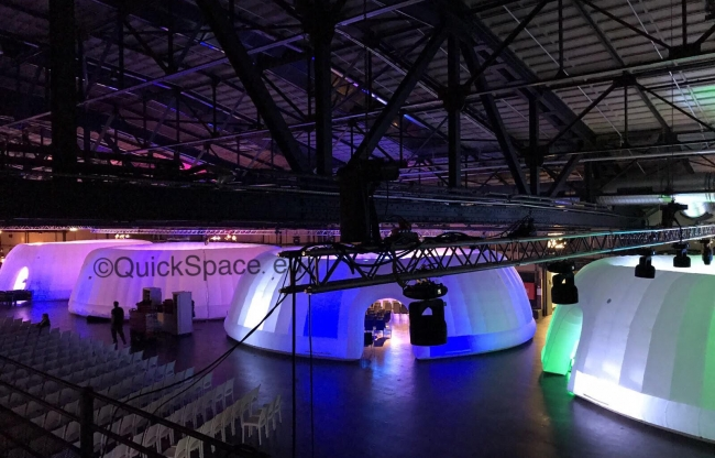 QuickSpace Panorama Dome 14m