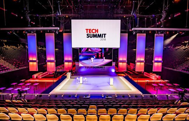 Party Rent Group meubileert Tech Summit 2018: 'Wij doen aan logistieke topsport'