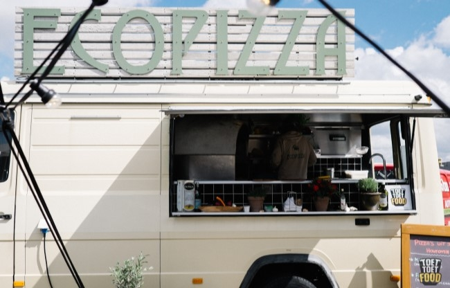 Pizzafoodtruck in Nederland