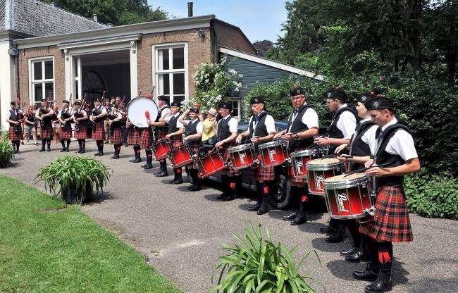 Vanderkruit - Schotse Spelen - Pipe Band