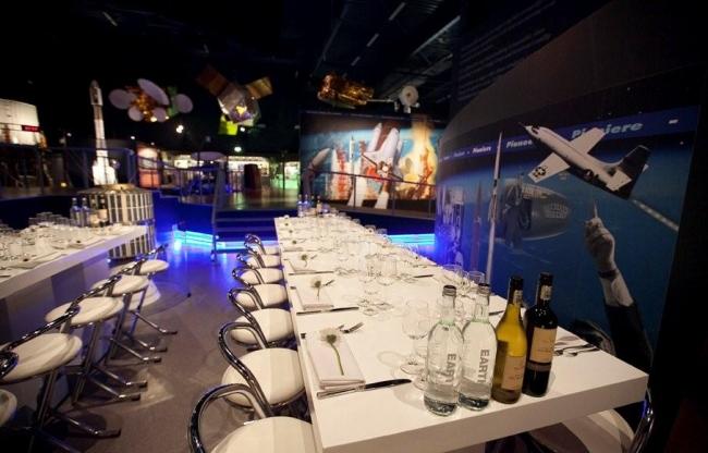 Space Expo - een bijzondere locatie voor een diner in hogere sferen