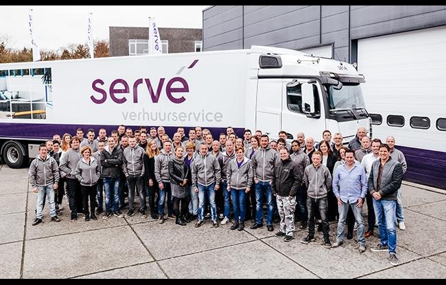 Servé Verhuurservice: 'We zetten mooie stappen de toekomst in'