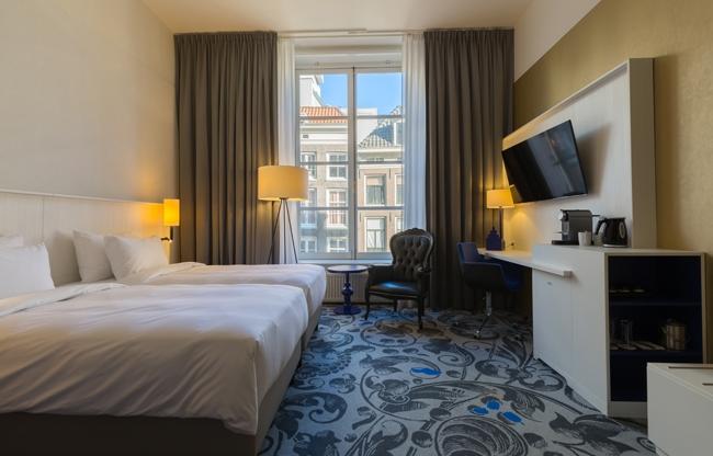 Radisson Blu Hotel, Amsterdam City Center: Sereen en solide in hartje Amsterdam
