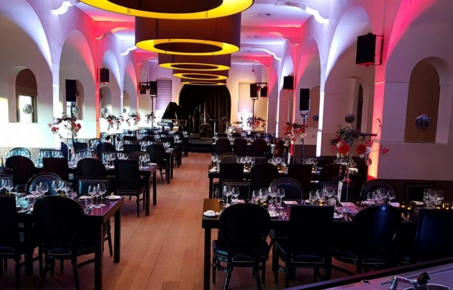 Diner setting Ridderzaal