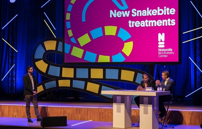 Snakebite from science to society in Stadsgehoorzaal Leiden