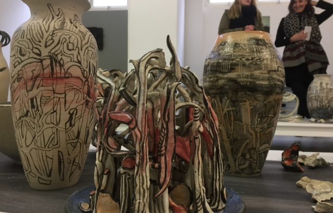 Kunstgalerie stadswandeling Rotterdam Leijnse Tours