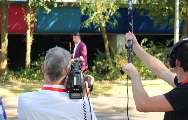 Opname dagjetelevisiemaken.nl op het Mediapark