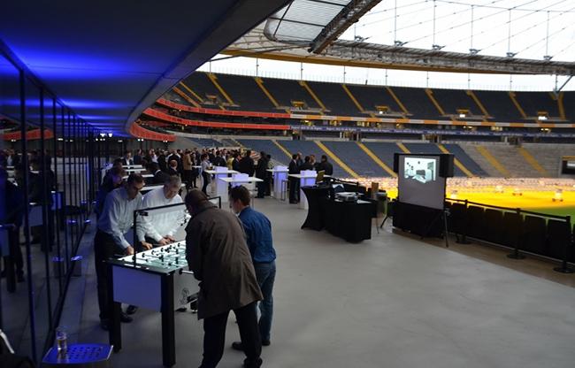 Een tafelvoetbal Roadshow: laagdrempelig, uitdagend en verbindend
