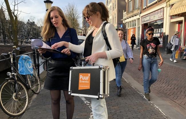 Actief bedrijfsuitje in Utrecht - Citygame