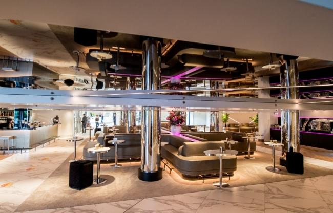 De vernieuwde Lounge by Nespresso leent zich perfect voor een ontvangst op 1,5 meter afstand