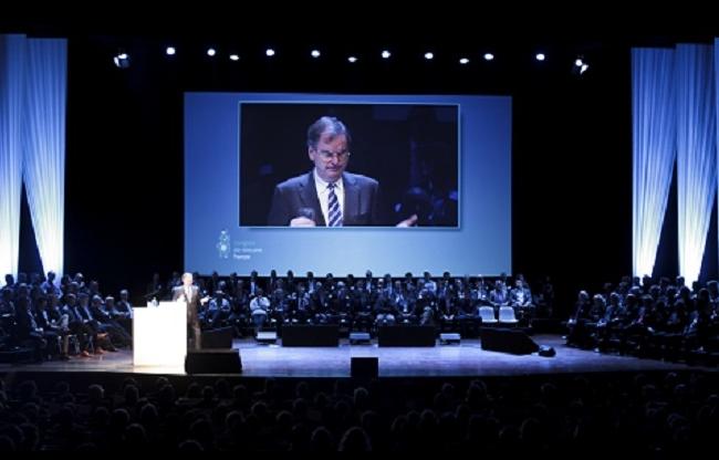 Congres in Theater de Spiegel