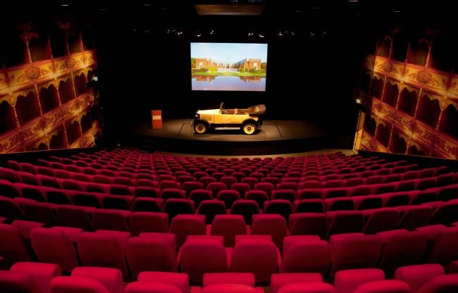 Louwman Museum - Theater - Autopresentatie