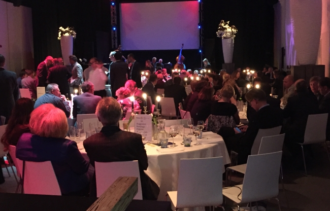 Dineren in Theaterzaal HAL4