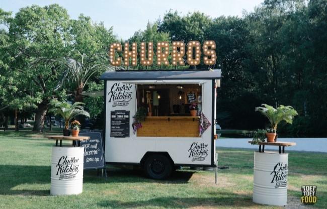 Huur een churros foodtruck