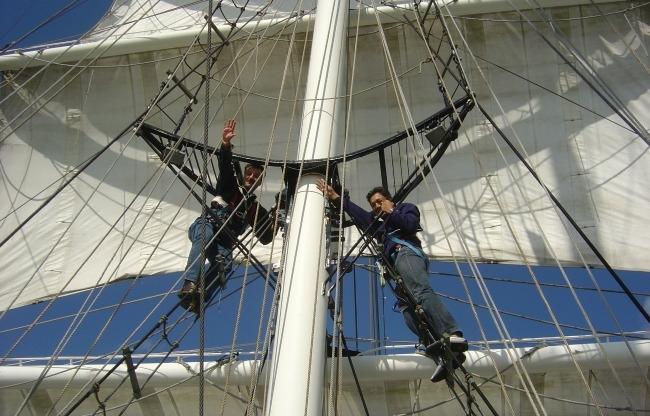 Mannen in de mast- NAUPAR