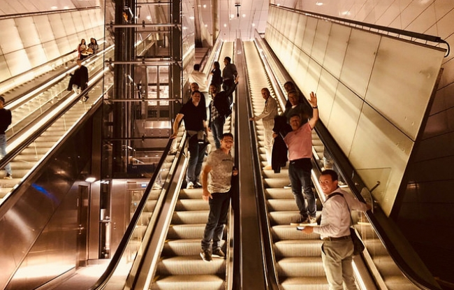 Bedrijfsuitje in Amsterdam - Noord-Zuid lijn