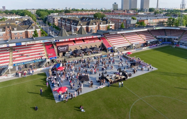 Veld event Sparta Stadion