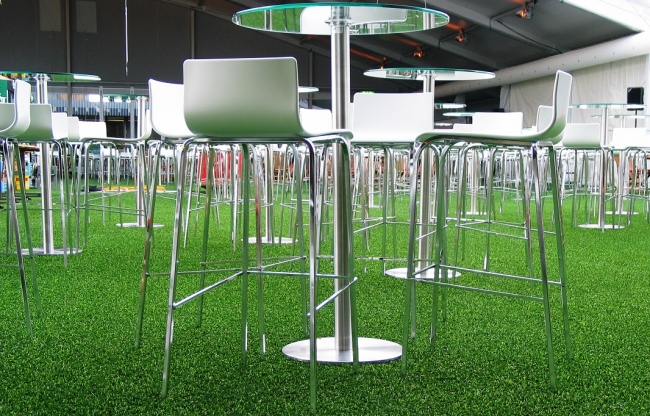 JMT, Artificial Grass, Green, Ginny Barstool White, Floor coverings