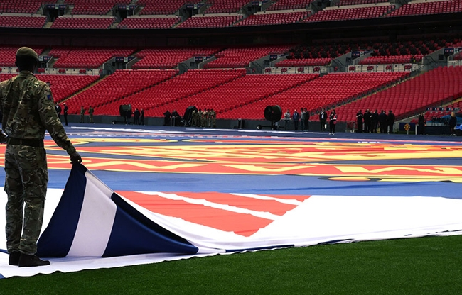 Wembley FA Cup Northern Flags