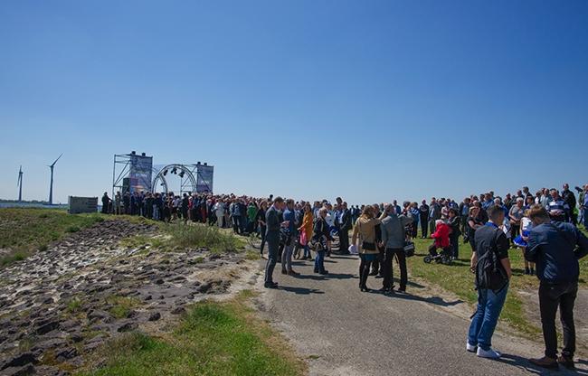 PINKORANGE verzorgt Koninklijke opening Windpark Krammer