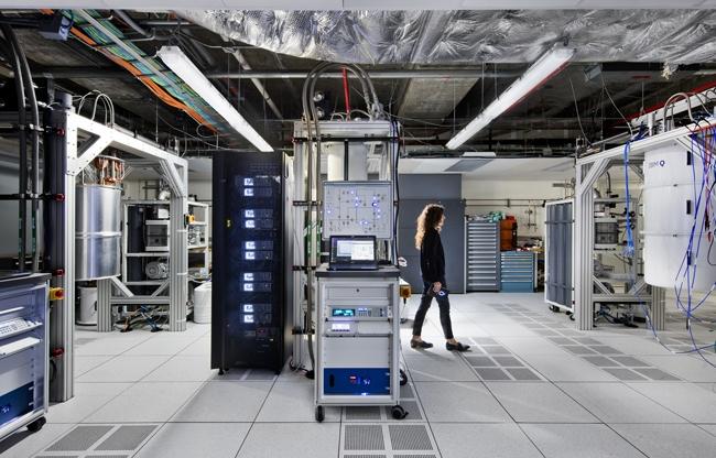 Zurich IBM QLAB, Computecenter ©IBM