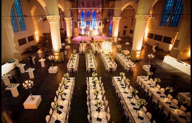 Grote Kerk Den Haag - Diner - 200 personen