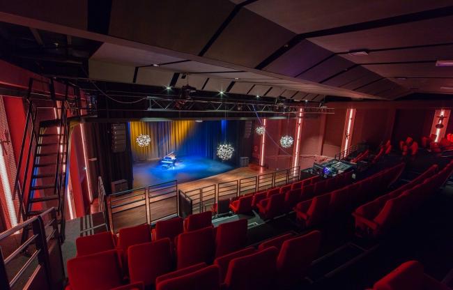 Lindenberg zakelijk verhuur Lindenbergzaal podium grote theaterzaal