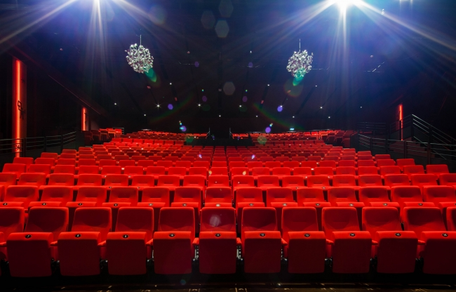 Lindenberg zakelijk verhuur Lindenbergzaal tribune grote theaterzaal