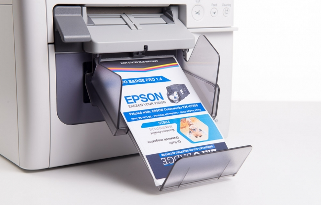 color badge printer