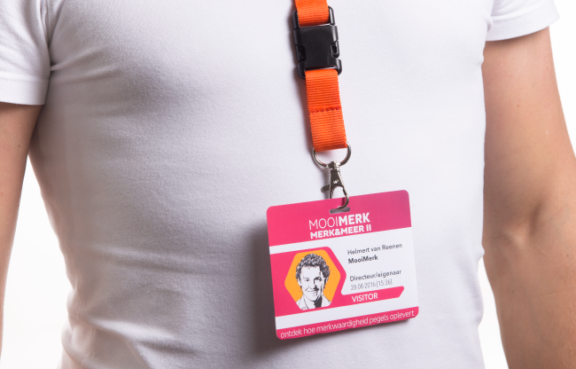 Lanyard badge