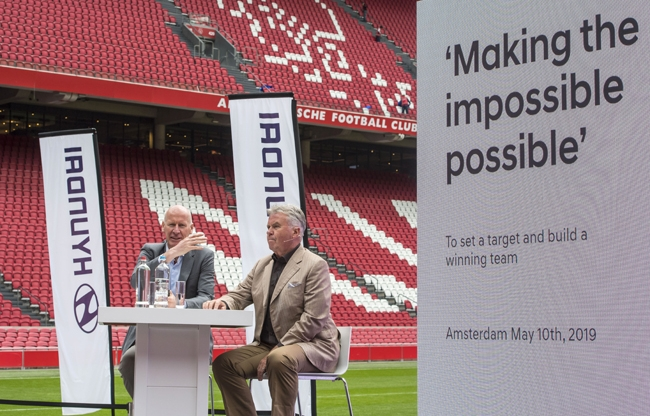 Stage Entertainment organiseert aftrap samenwerking KNVB & Hyundai in de Johan Cruijff ArenA